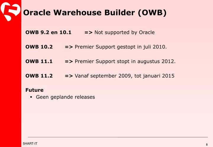 Oracle Warehouse Builder (OWB)