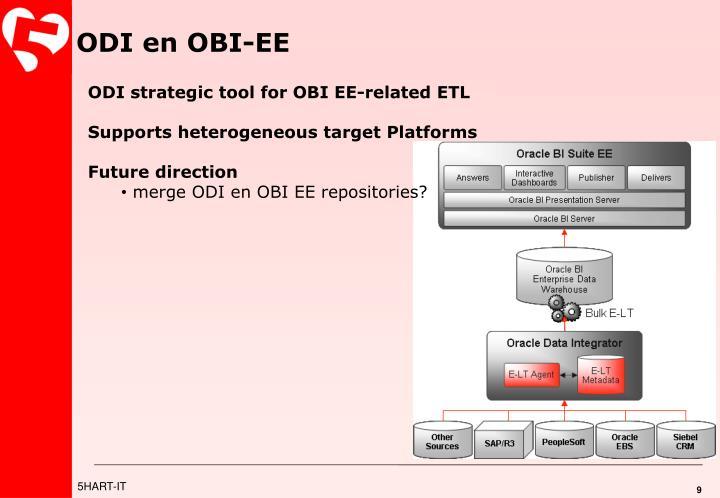 ODI en OBI-EE