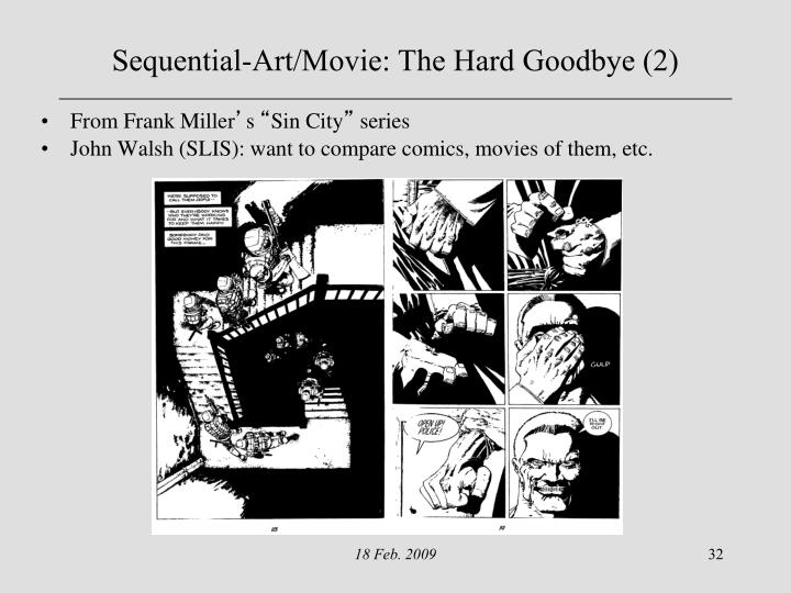 Sequential-Art/Movie: The Hard Goodbye (2)
