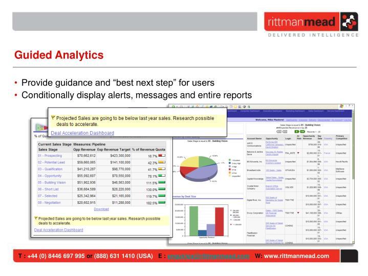 Guided Analytics