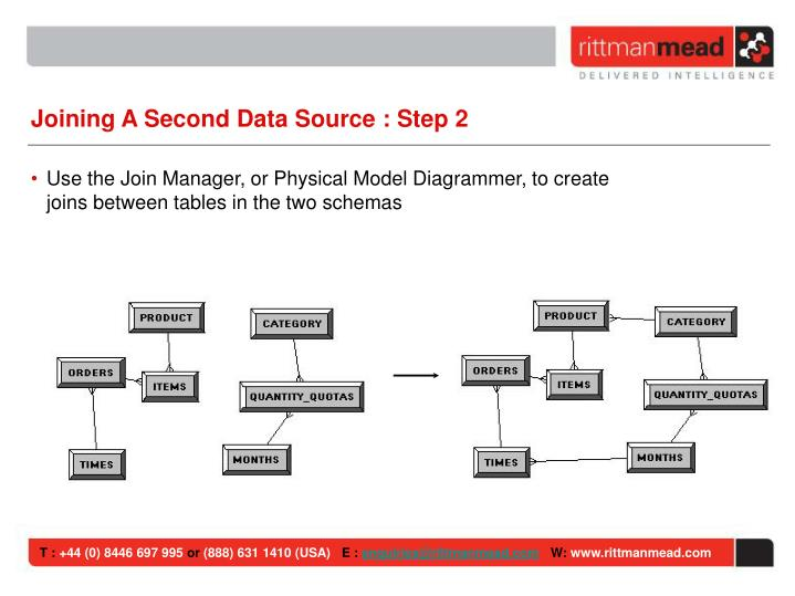 Joining A Second Data Source : Step 2
