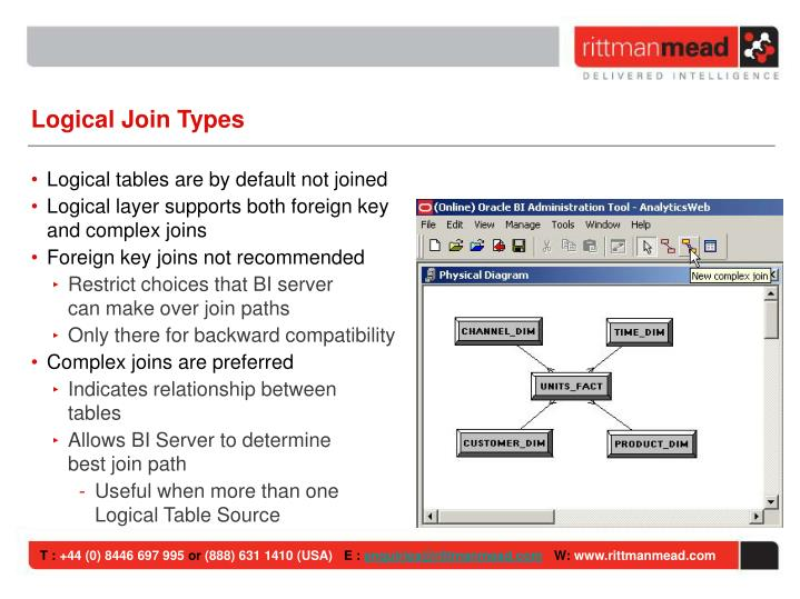 Logical Join Types