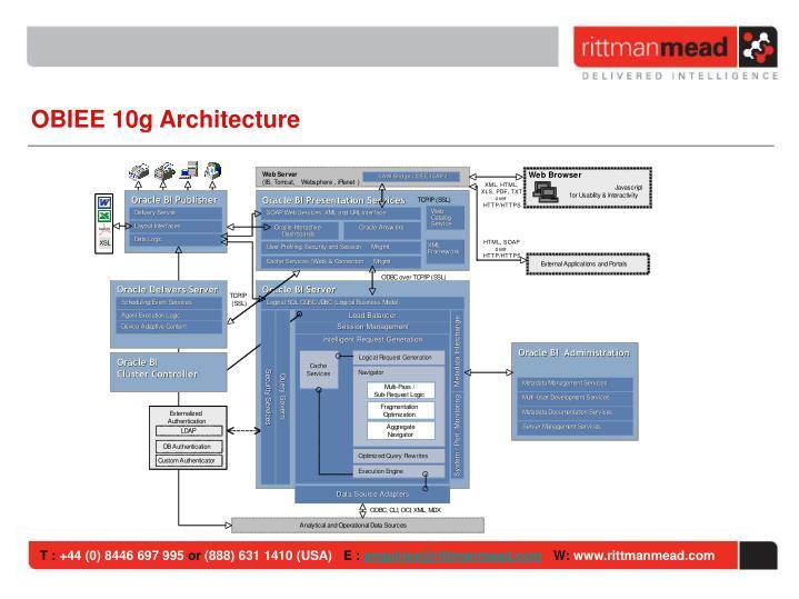 OBIEE 10g Architecture