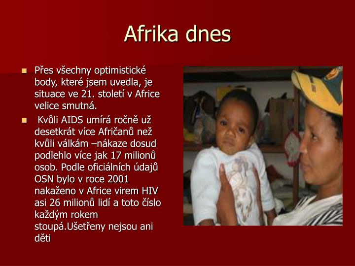Afrika dnes