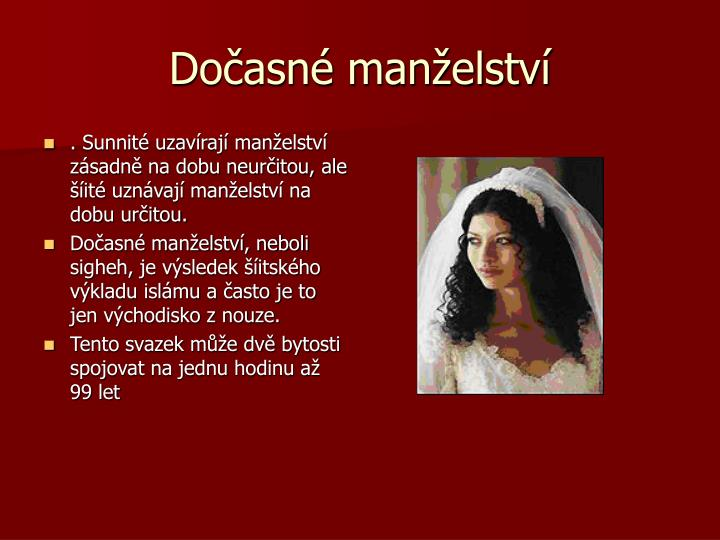 Dočasné manželství