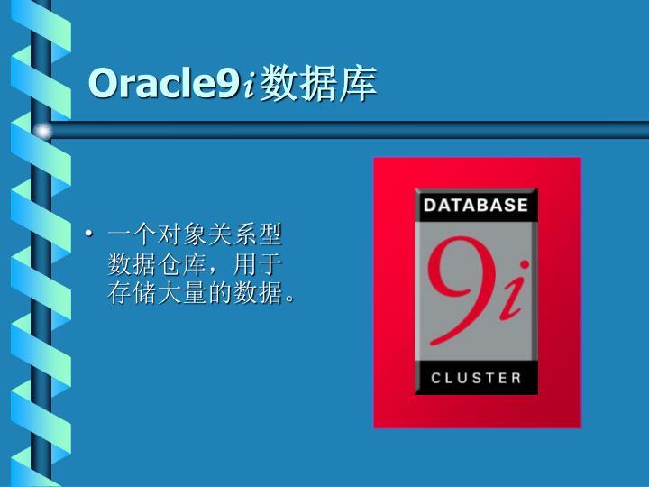 一个对象关系型数据仓库,用于存储大量的数据。