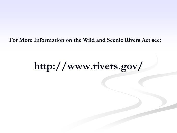 http://www.rivers.gov/