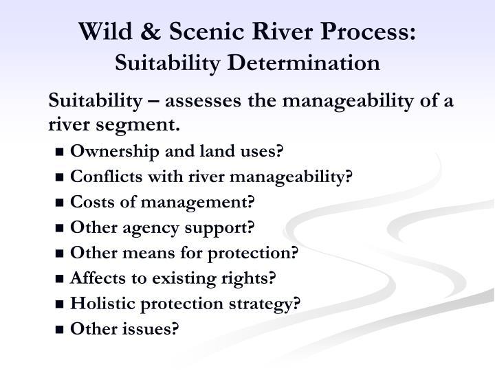 Wild & Scenic River Process: