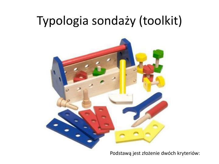 Typologia sondaży (toolkit)