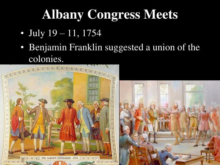 Albany Congress Meets