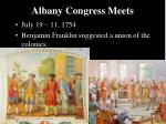 albany congress meets