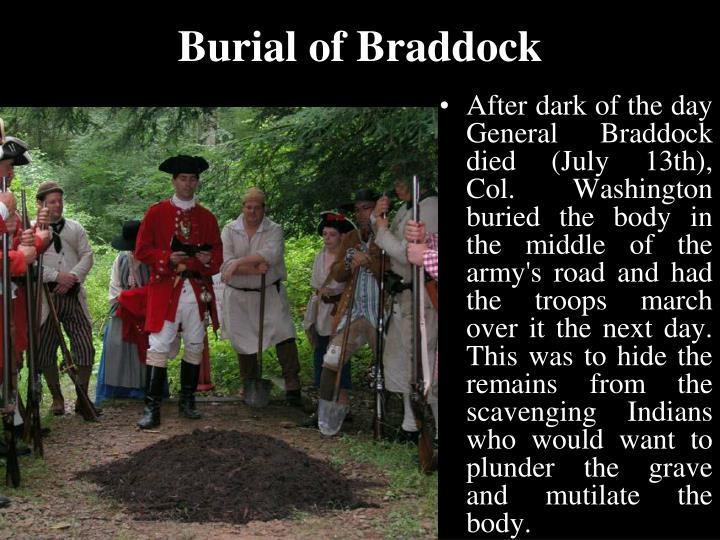Burial of Braddock