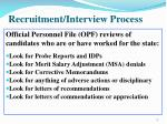 recruitment interview process1