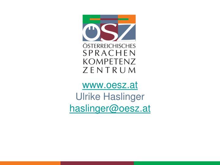 www.oesz.at