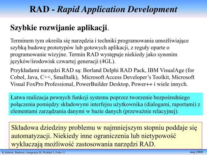 RAD -