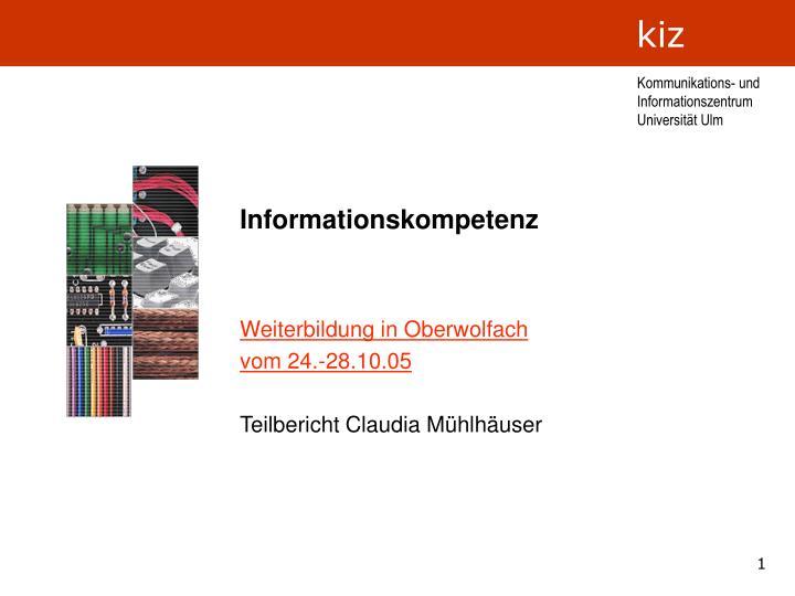 informationskompetenz