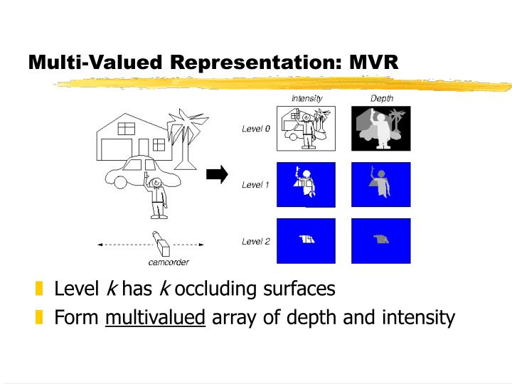 Multi-Valued Representation: MVR