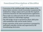 functional description of rectifier1