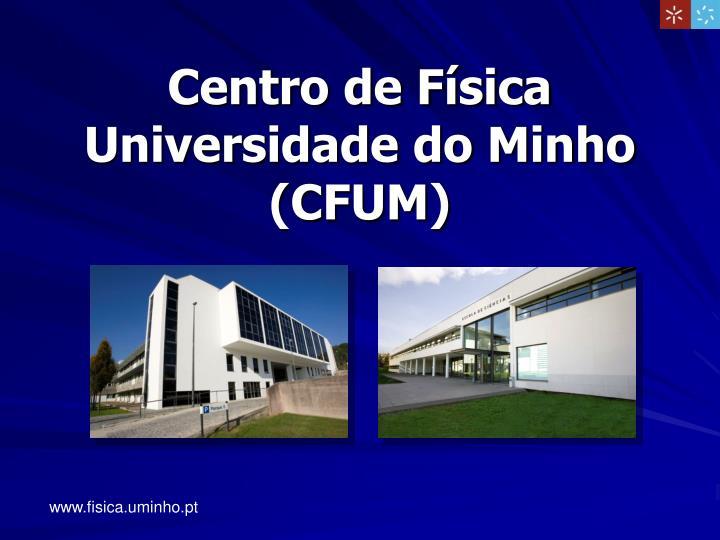 Centro de Física