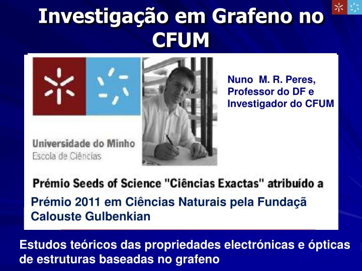 Nuno  M. R. Peres,