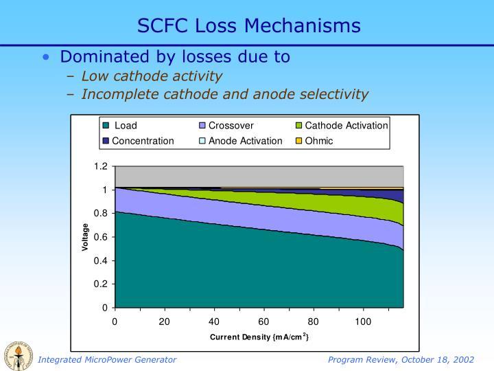 SCFC Loss Mechanisms
