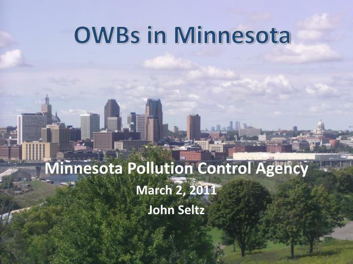 OWBs in Minnesota
