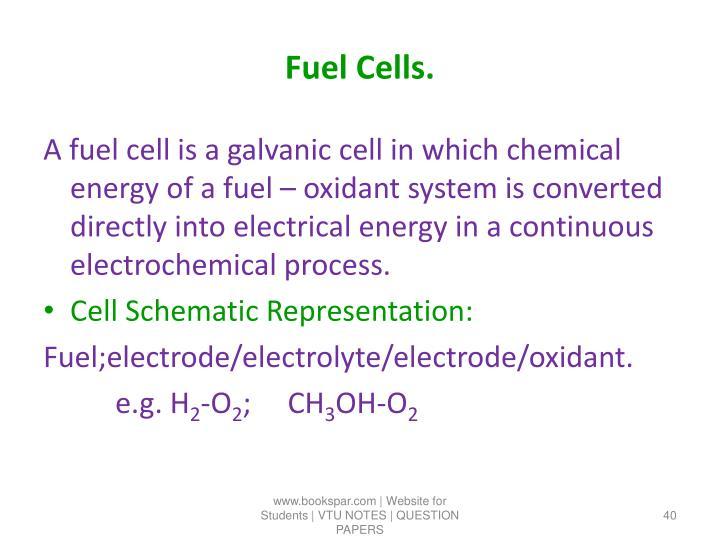 Fuel Cells.