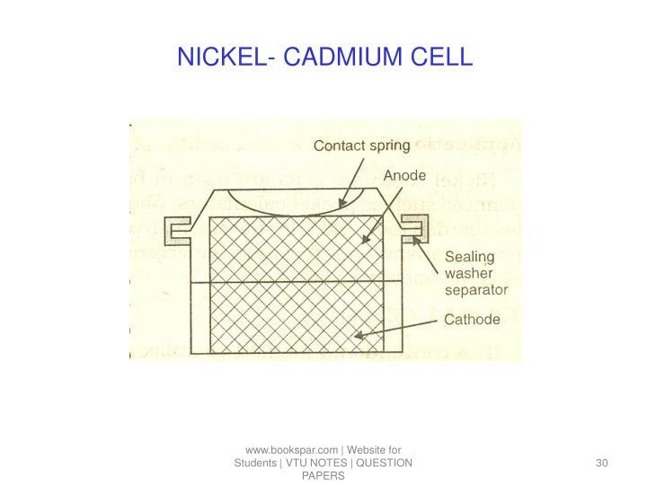 NICKEL- CADMIUM CELL