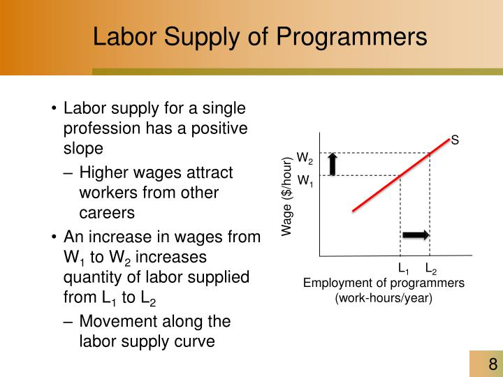 Labor Supply of Programmers