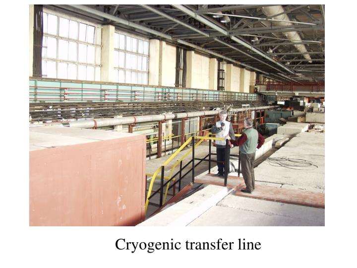 Cryogenic transfer line