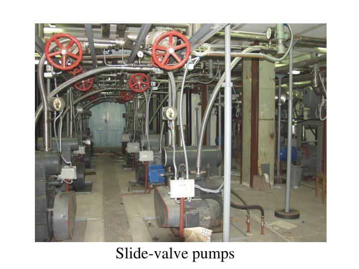 Slide-valve pumps