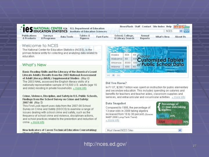 http://nces.ed.gov/