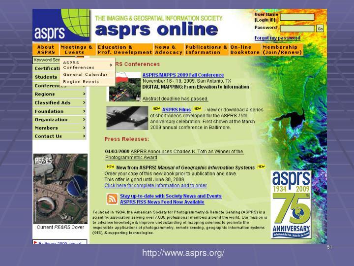http://www.asprs.org/