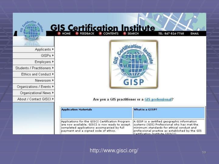 http://www.gisci.org/