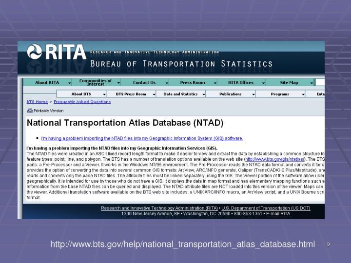 http://www.bts.gov/help/national_transportation_atlas_database.html