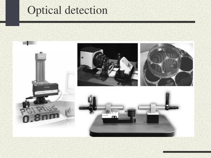 Optical detection