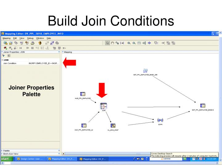 Build Join Conditions