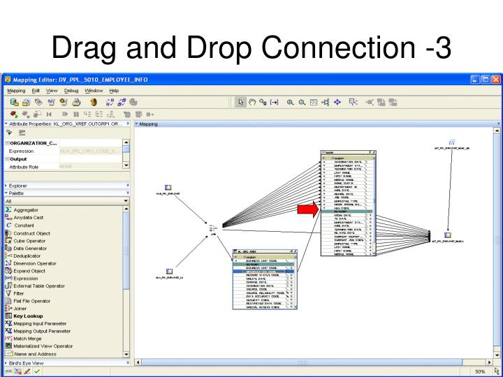 Drag and Drop Connection -3