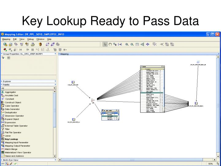 Key Lookup Ready to Pass Data