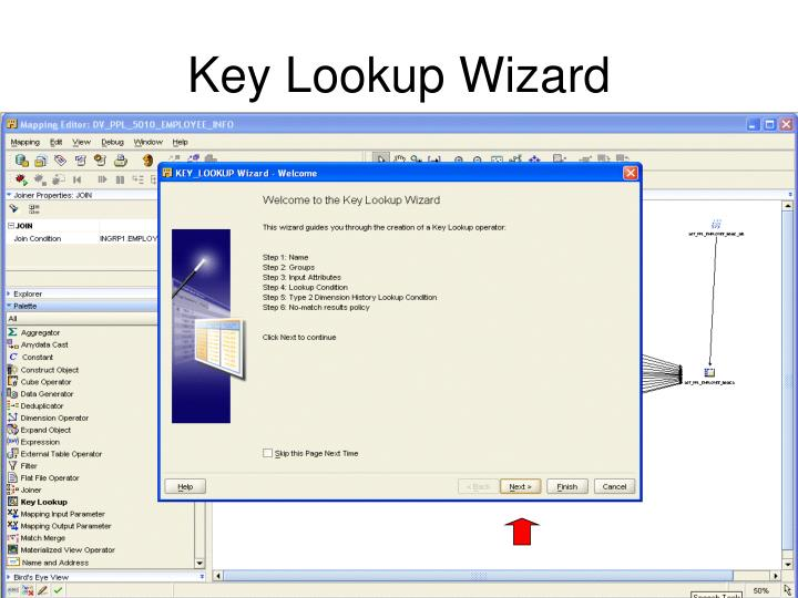 Key Lookup Wizard