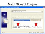 match sides of equijoin