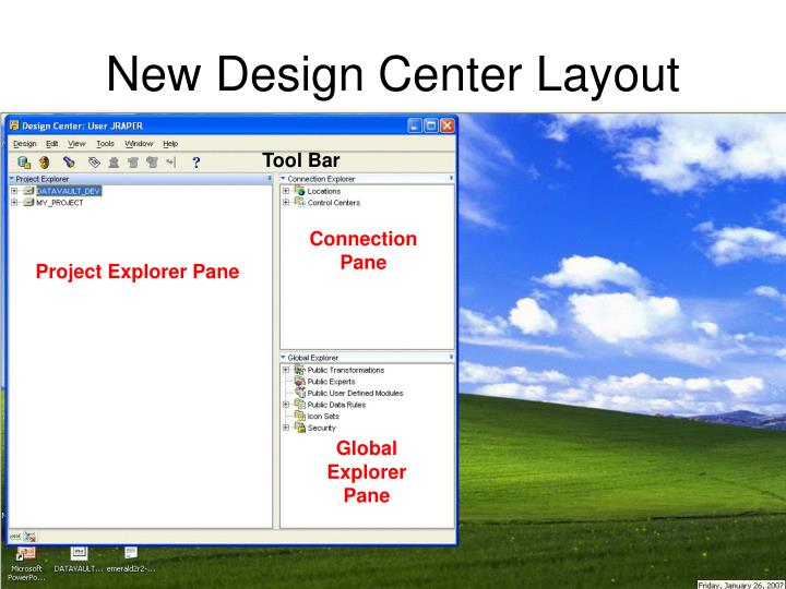 New Design Center Layout