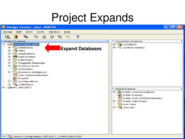 Expand Databases