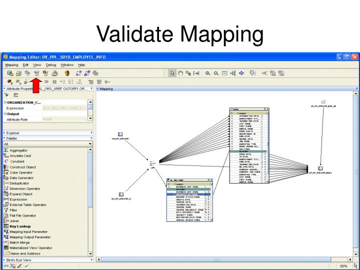 Validate Mapping