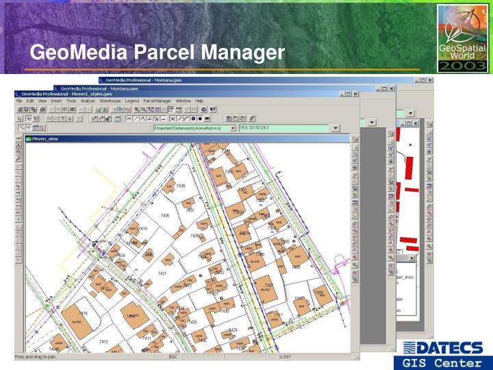 GeoMedia Parcel Manager