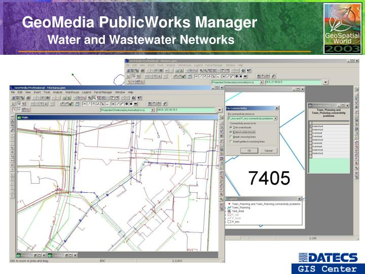 GeoMedia PublicWorks Manager