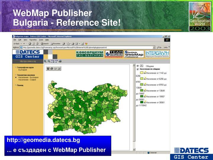 WebMap Publisher