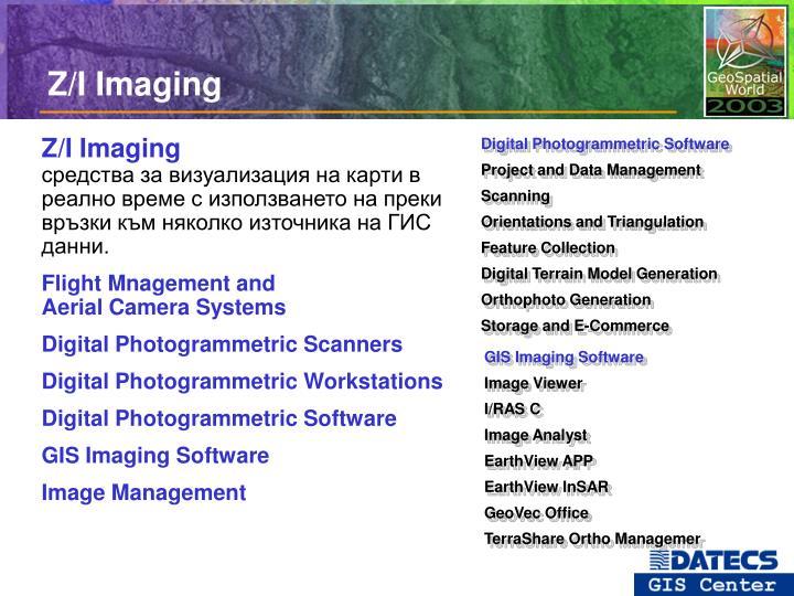 Z/I Imaging