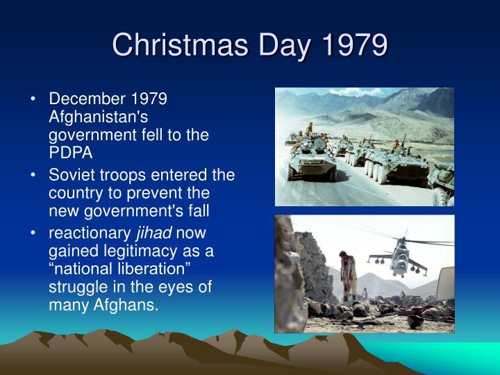 Christmas Day 1979