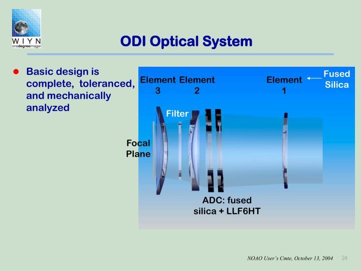 ODI Optical System